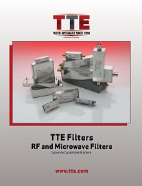 Corporate Capabilities Brochure Now Available From TTE Filters