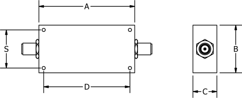 Connectorized Type SMA